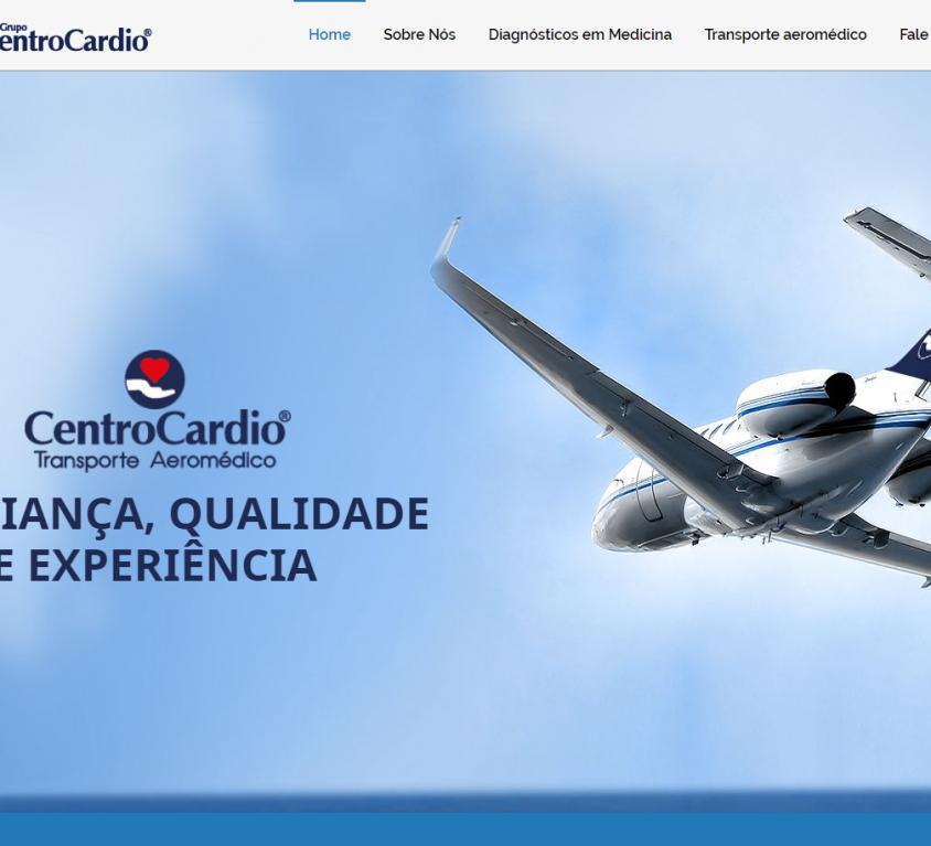 CentroCardio – Transporte Aéreo Médico e Centro de Diagnósticos