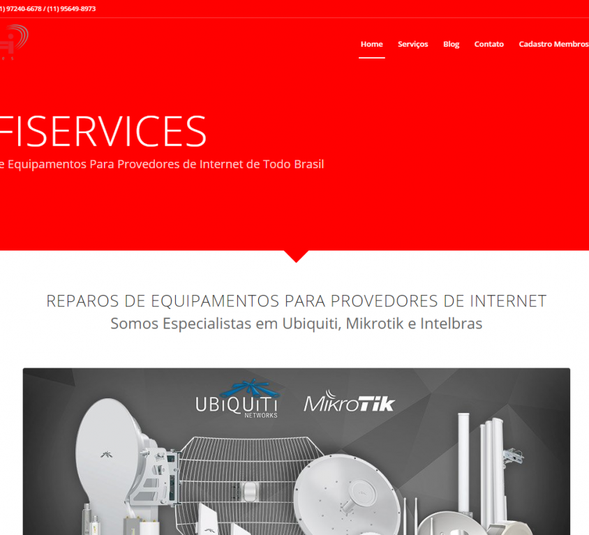 WIFIServices – Centro de Reparos em Equipamentos de Conectividade